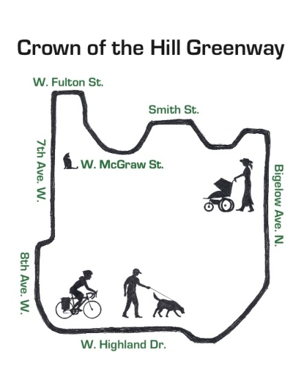 qa greenways map